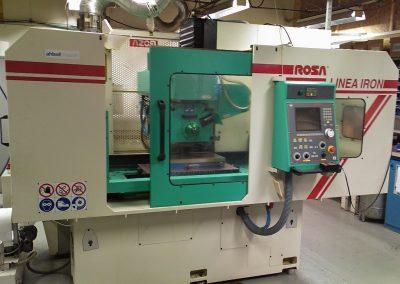 CNC-styrd planslip. Bordet är 800X400mm.